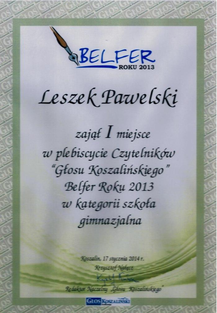 belfer 2013