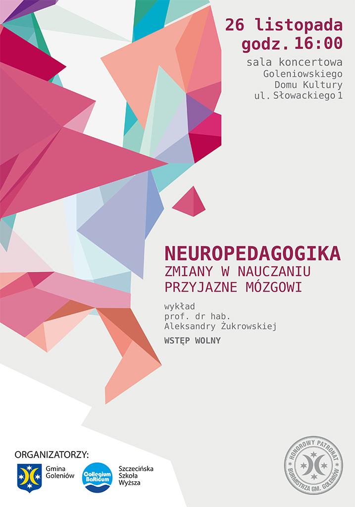plakat-neuropedagogika-wyklad