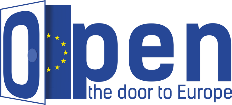 logo - open the door to Europe - without background