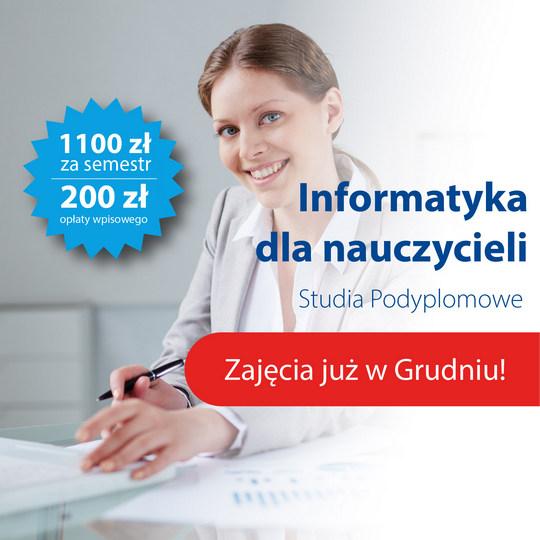 Informatyka dla nauczycieli