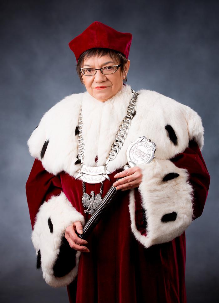 rektor - Aleksandra Żukrowska