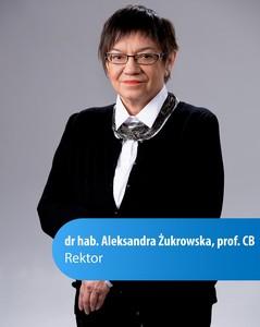 Rektor Aleksandra Żukrowska