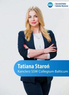 Kanclerz Tatiana Staroń