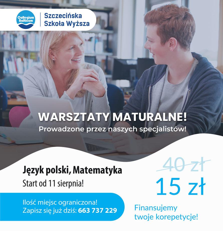 Warsztaty dla maturzystów