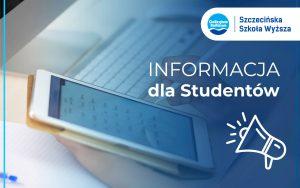 Update: Info dla studentów