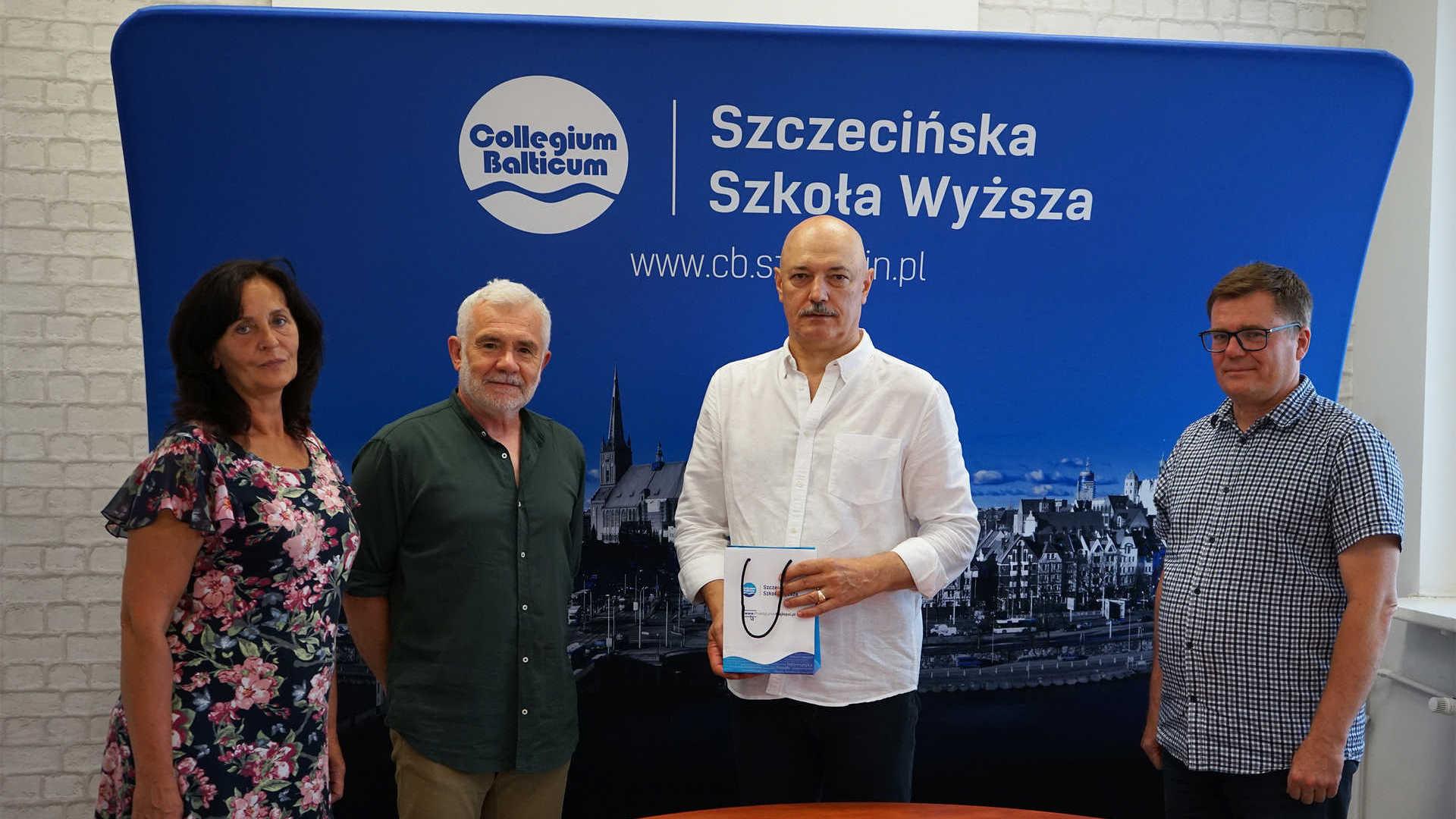 Nowy wykładowca Michał Sikora